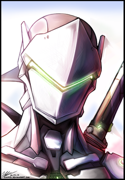 Genji Practice Paint by Vikko2