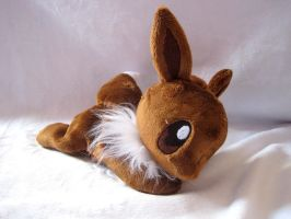 Eevee Beanie Baby by FollyLolly