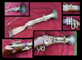 Trumpet rifle. by mind-traveler