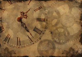 steampunk wallpaper by satyrgod