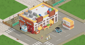 Supermarket for Pixeldam by NoNoKoHime