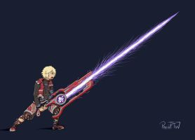 Shulk - Monado Buster by PatinFTW