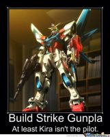 Gundam Build Fighters Motivational Poster 6 by slyboyseth