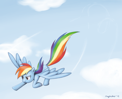 Rainbow Dash by raynubu