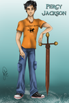 Percy Jackson by juliajm15