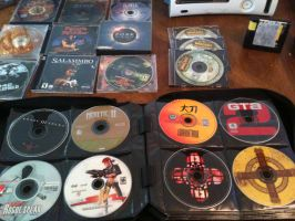 Video Game Collection 2015 (Lose CD's) by elvenbladerogue