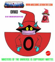 Masters of the Universe - Orko by mikedaws