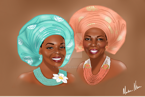 Mother and Daughter - Client Portrait by mnkene