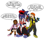 Z-Parasites - Halloween - Kyouryugers by redliger