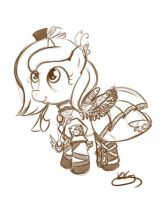 LS req 3-9-2012- 4- steampunk woona by bunnimation