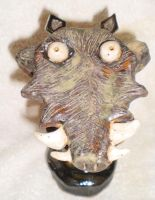 Warthog Column 4 by aberrantceramics