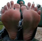 sexy punk soles in your face! by footboy134