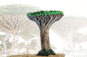 Socotra dragon tree by hontor