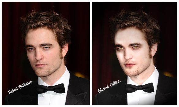 ...turning into Edward Cullen. by just-me-just-i