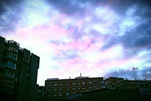 Good morning 2! 07:00 a.m sky!~With filters! by LadyEdile