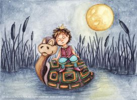 We'll Sleep on the Water by Ilona-S