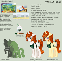 Vanilla Bean Reference Sheet by NaginsTheLich