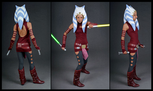 Ahsoka Cosplay by Bones333