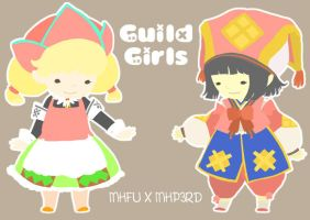 Guild Girls by obliviousOUL