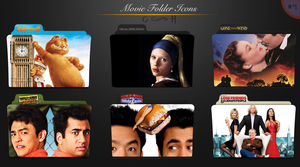 Movie folder icons NO.9 by dyinginthesun