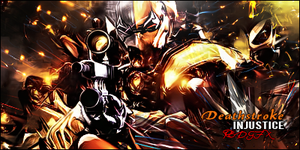 Deathstroke Injustice by Red-wins