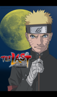 Naruto Uzumaki The last Movie Lineart Colored by Sarah927