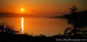 Sunrise on Anacortes by La-Vita-a-Bella