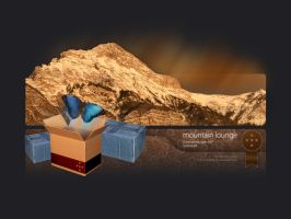 Mountain Lounge wallpaper pack by Caddielook