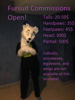 Fusuit Commissions Open! by unknown0species