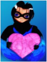 Valentine: Nightwing by Danielle-chan