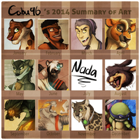 2014 Art Summary by cobu96