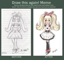 Draw This again Meme by Anini-Chu