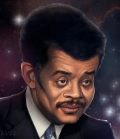 Neil DeGrasse Tyson by DarthMoga