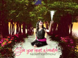 + Give Your Heart A Break by NiickiithaEditions
