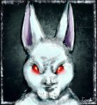Creepy bunny by Tweek278