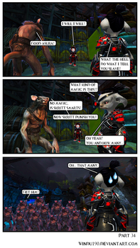 A Skritty Situation 34 (Guild Wars 2 comic) by windu190