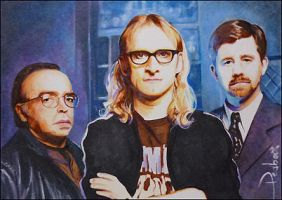 The Lone Gunmen by DavidDeb