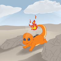 APAD: Day 4 Charmander by RhythmGeneration