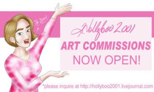 Commission Sign by Hollyboo2001