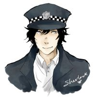 Officer Sherlock by Puchoro