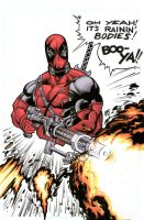 Deadpool by bukshot