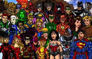 The New DC Univers by mkeaston77