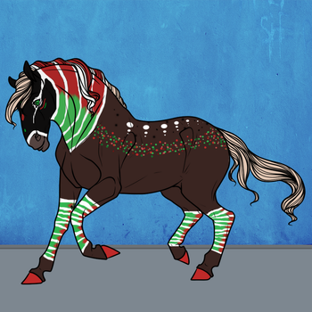 #9343 LDS Holly Jolly Holiday by LilyDale-Stables