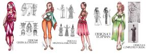 Fashion Class Sketches by SankofaRida