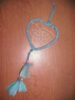 Blue Heart Dreamcatcher by Rubyfire14-Stock