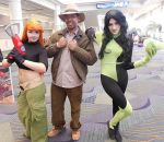 Kim Possible, Chip and Shego by R-Legend