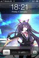 Iphone 4 Date A Live Tohka Yatogami by Akw-Art-Design