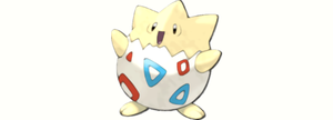 The Spike Ball Pokemon: Togepi by scriptureofthescribe