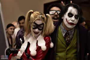 The Joker and Harley Quinn love by LeanAndJess