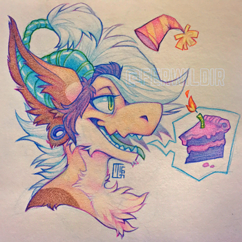 Birthday Bug by Ferwildir